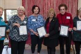 East Islip Senior Club Swearing-In Ceremony