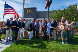 McDonalds Re-Opens in Oakdale