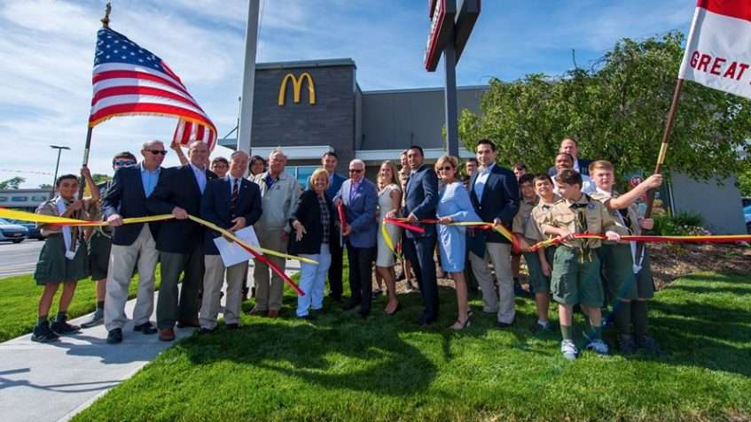 McDonalds Re-Opens in Oakdale