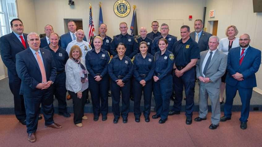 Town Celebrates Peace Officer Academy Graduates